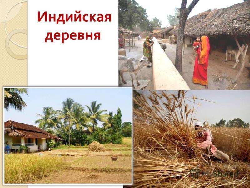 Индийская деревня
