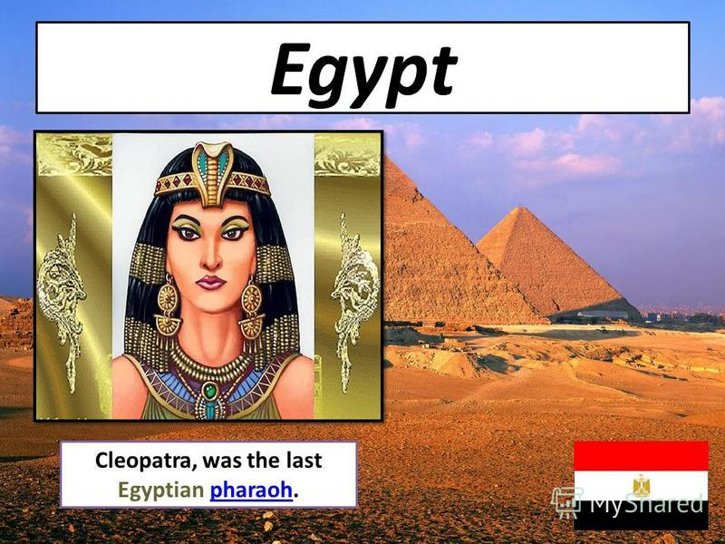 an analysis of the significant woman on egypts last pharaoh cleopatra