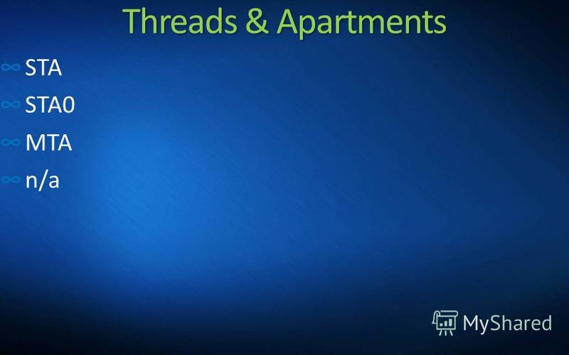 Threads & Apartments STA STA0 MTA n/a