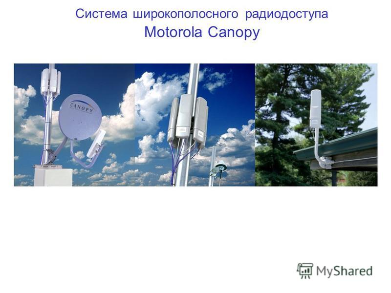 Система широкополосного радиодоступа Motorola Canopy