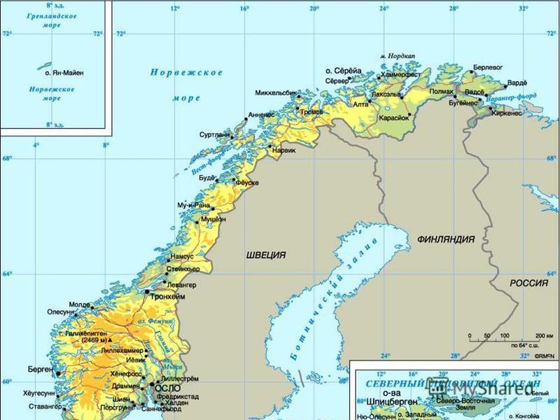 Где находиться море норвежское
