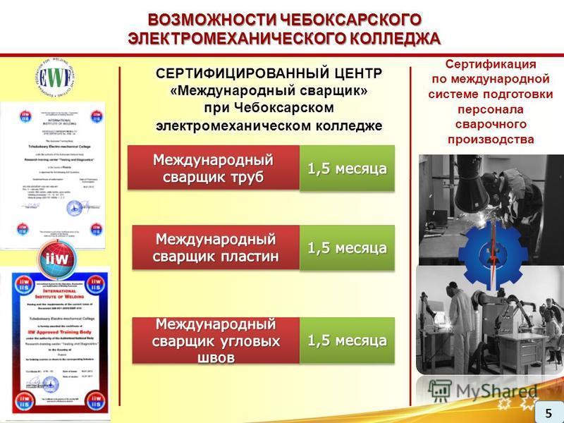 Сертификация по международной системе подготовки персонала сварочного производства