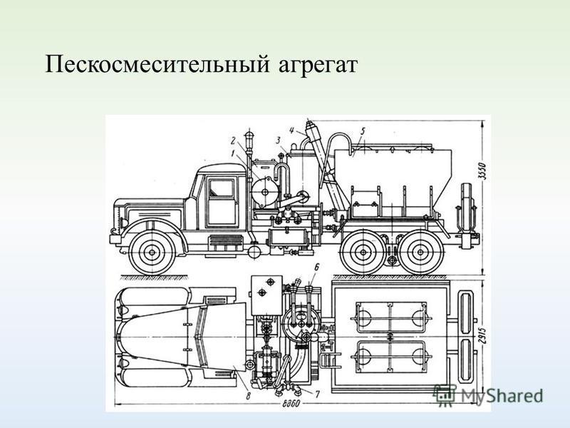 Пескосмесительный агрегат
