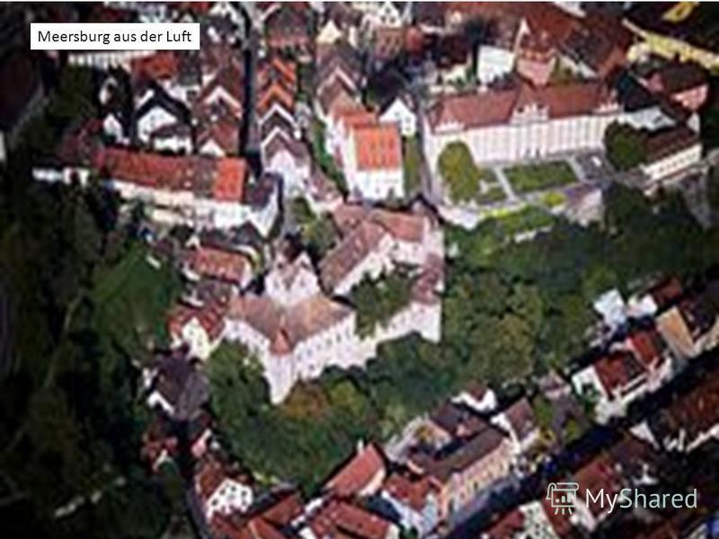 Meersburg aus der Luft