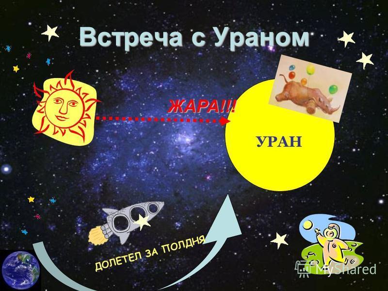 Встреча с Ураном ДОЛЕТЕЛ ЗА ПОЛДНЯ УРАН ЖАРА!!!