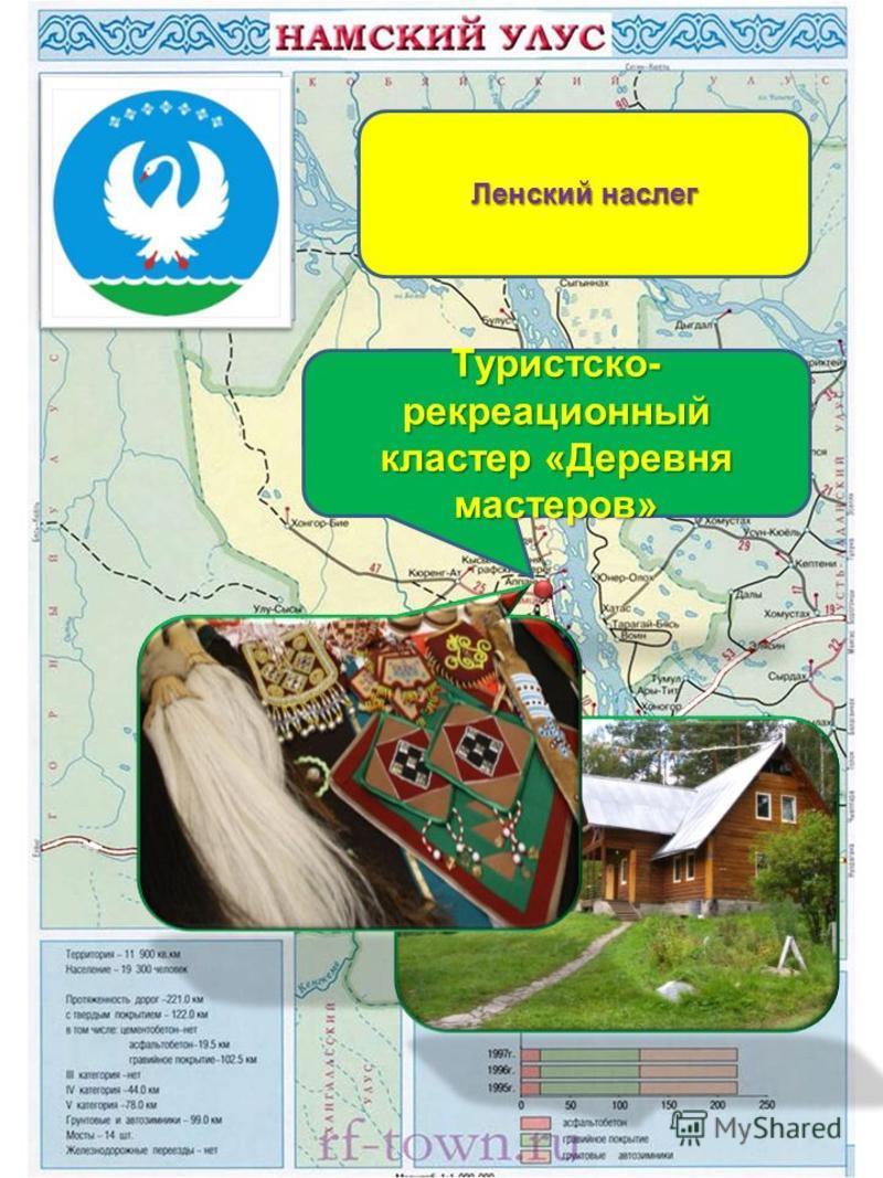 Туристско- рекреационный кластер «Деревня мастеров» Ленский наслег