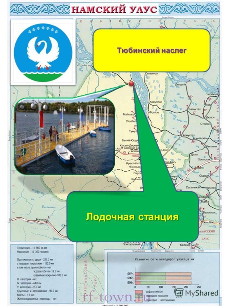 Лодочная станция Тюбинский наслег