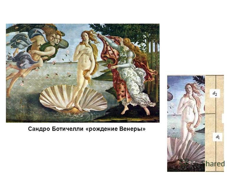 Сандро Ботичелли «рождение Венеры»