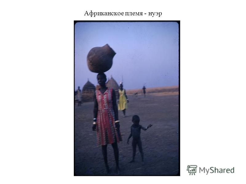 Африканское племя - нуэр