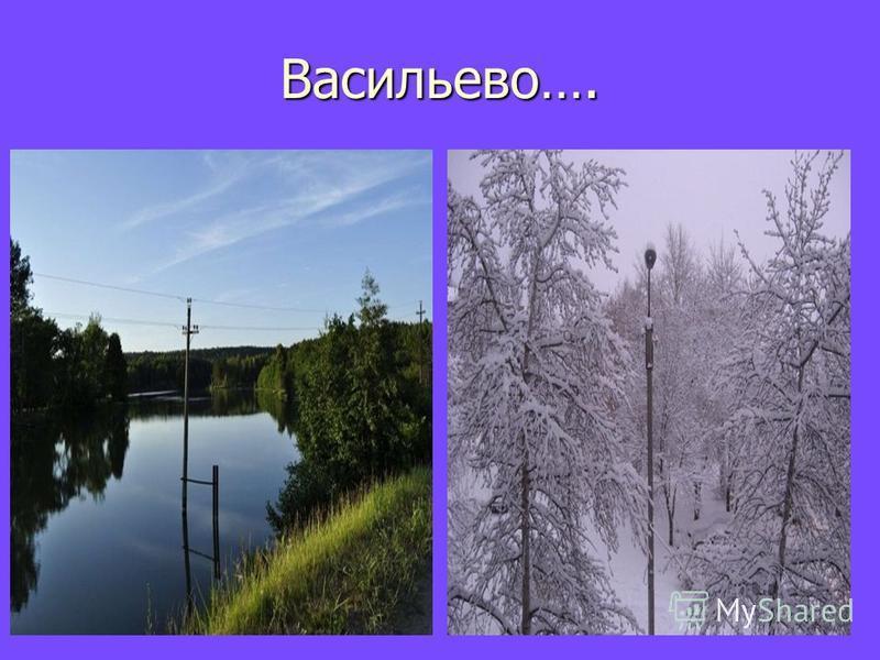 Васильево….