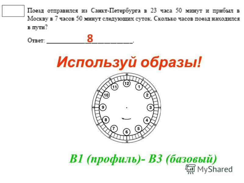 Используй образы! 8 В1 (профиль)- В3 (базовый)
