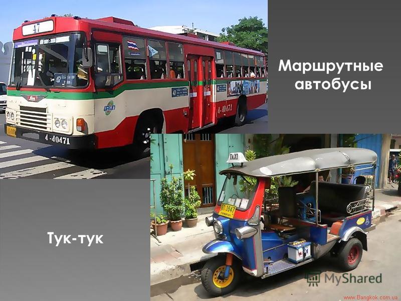 Маршрутные автобусы Тук-тук