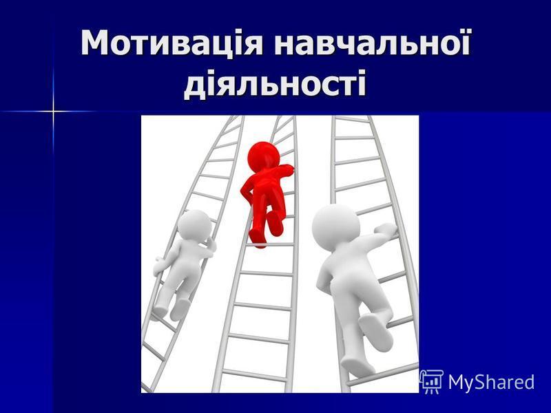 Мотивація навчальної діяльності