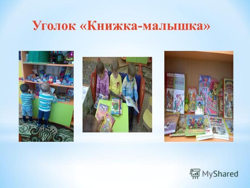 Уголок «Книжка-малышка»