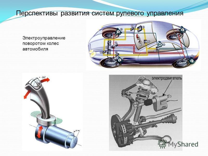 Перспективы развития систем рулевого управления Электроуправление поворотом колес автомобиля