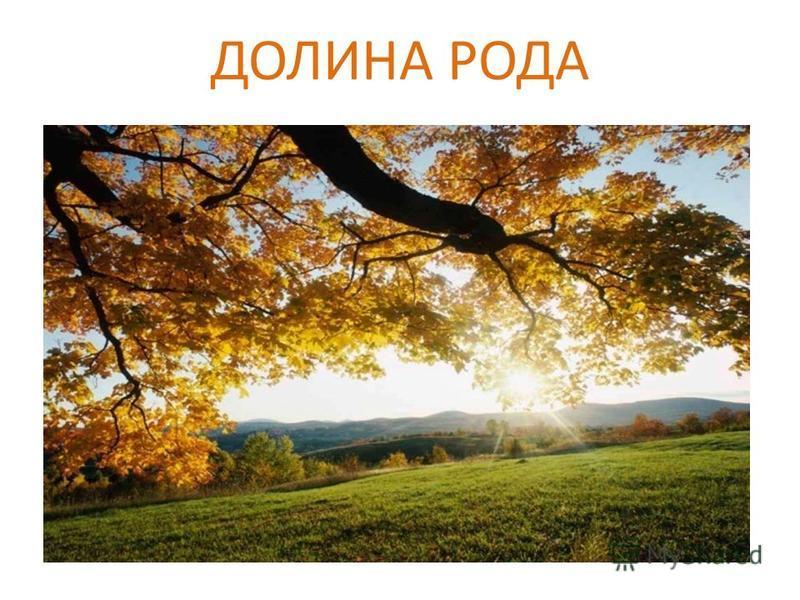 ДОЛИНА РОДА