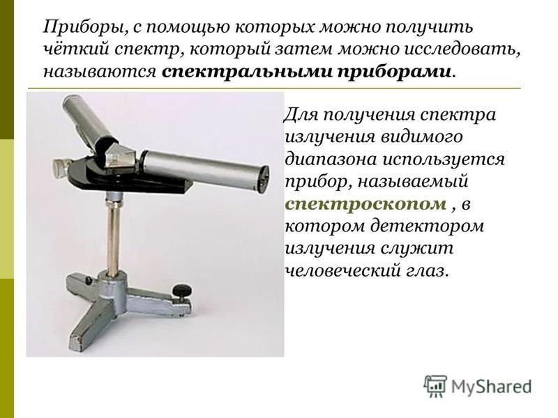 Густав Роберт Кирхгоф 1824 - 1887 Роберт Вильгельм Бунзен 1811 - 1899 Спектральный анализ – метод определения качественного и количественного химического состава вещества по его спектру. Разработан в 1859 году немецкими учеными Г. Р. Кирхгофом и Р. В