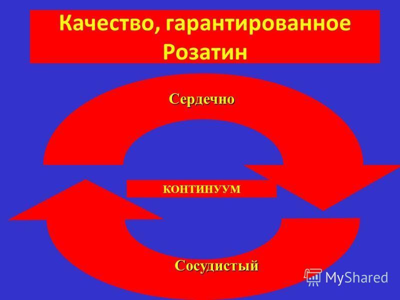 Качество, гарантированное Розатин Сердечно Сосудистый КОНТИНУУМ