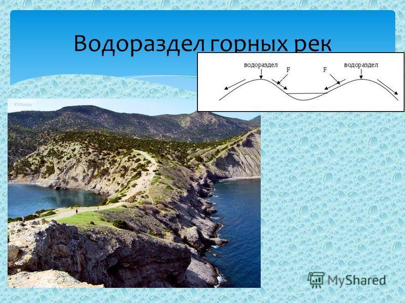 Водораздел горных рек