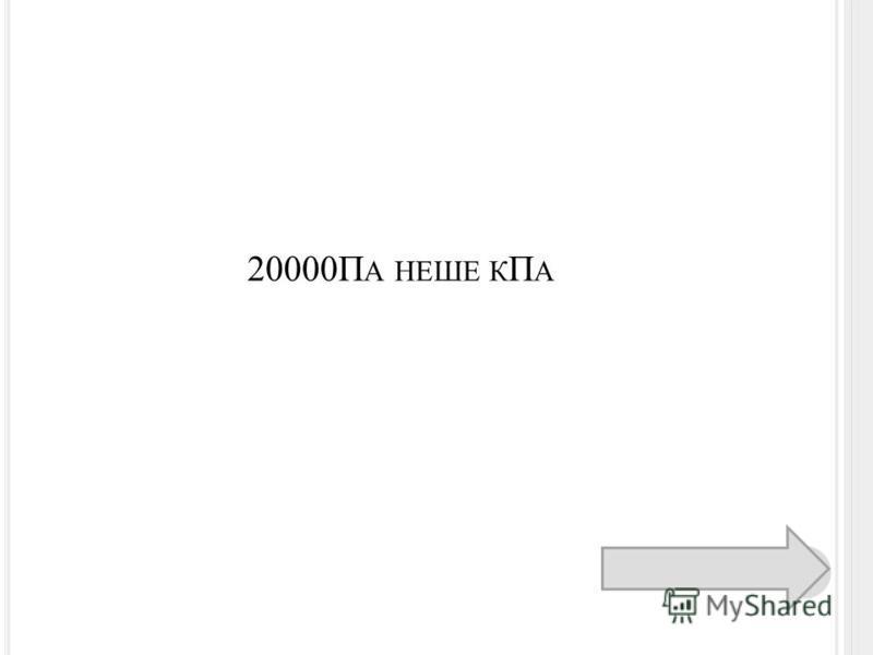 20000П А НЕШЕ К П А