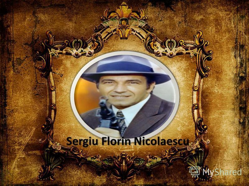 Sergiu Florin Nicolaescu