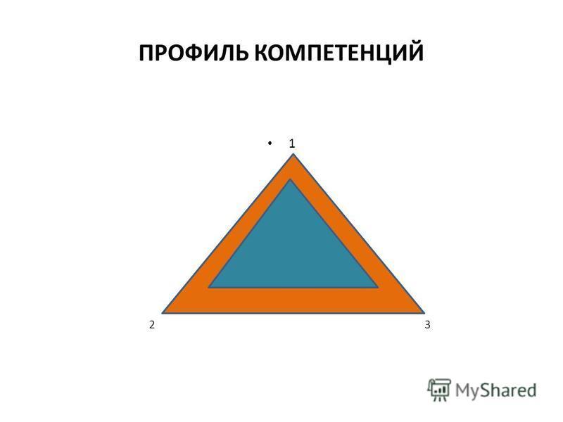 ПРОФИЛЬ КОМПЕТЕНЦИЙ 1 2 3