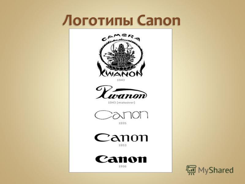 Логотипы Canon