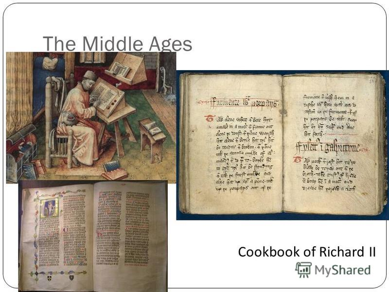 The Middle Ages Cookbook of Richard II