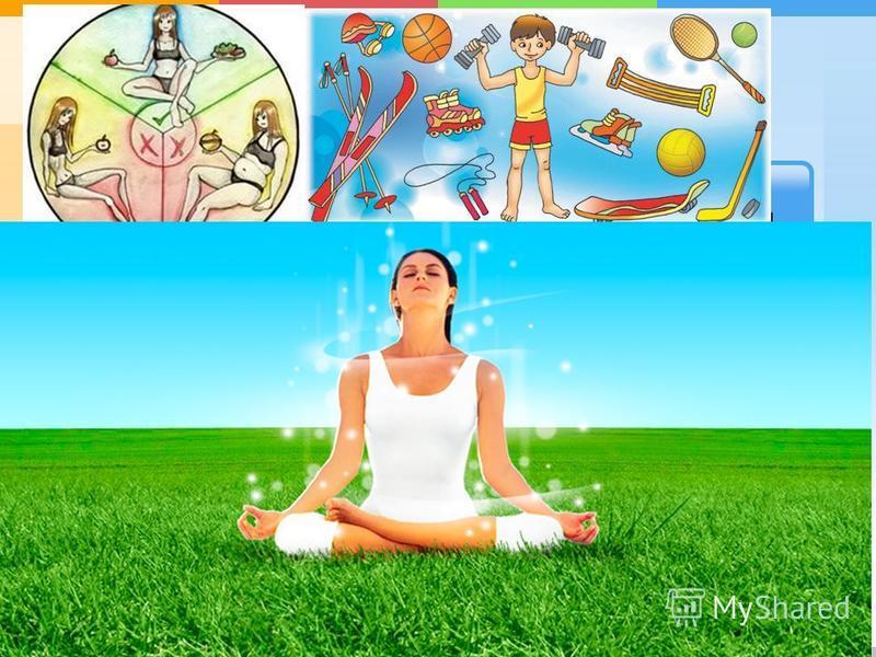 рациональное питание соблюдение правил гигиены режим дня отказ от вредных привычек двигательная активность общение с природой Составляющие здорового образа жизни:
