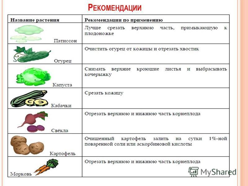 Р ЕКОМЕНДАЦИИ