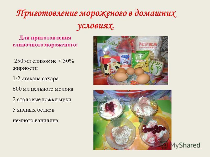 Мороженое в домашних условиях по госту ссср 291