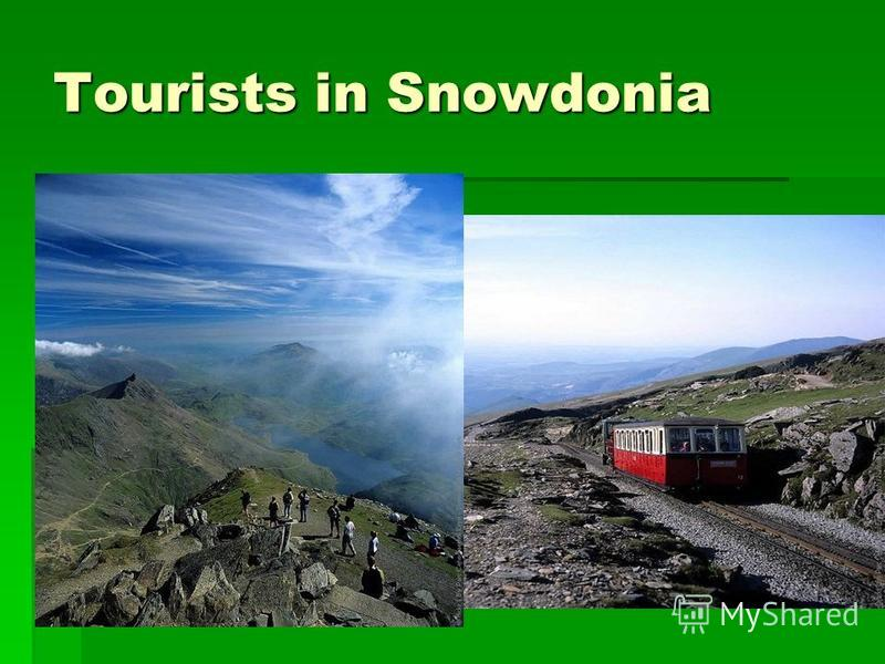 Tourists in Snowdonia