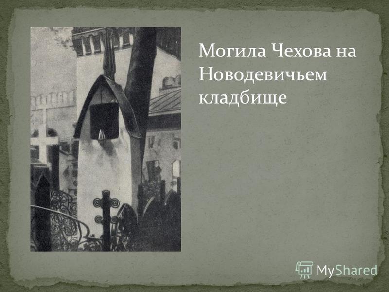 Могила Чехова на Новодевичьем кладбище
