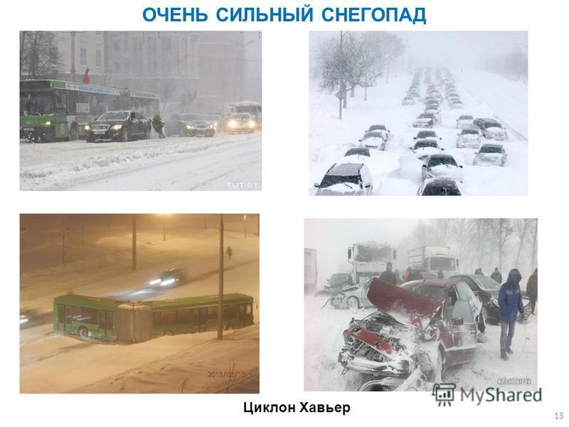 13 ОЧЕНЬ СИЛЬНЫЙ СНЕГОПАД Циклон Хавьер