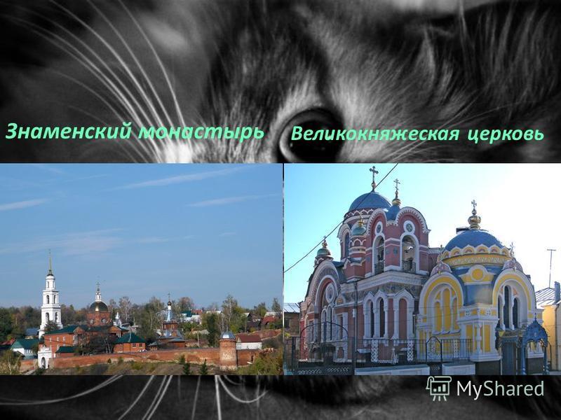 Знаменский монастырь Великокняжеская церковь.