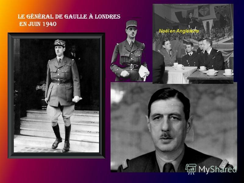 Charles et Yvonne De Gaulle En 1939, lorsque la Seconde guerre mondiale éclate, le colonel de Gaulle est commandant des chars de la Ve armée. Il explique ici sa stratégie à Albert Lebrun, le président de la République