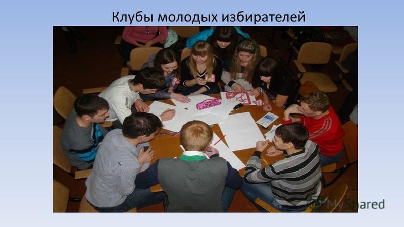 Клубы молодых избирателей