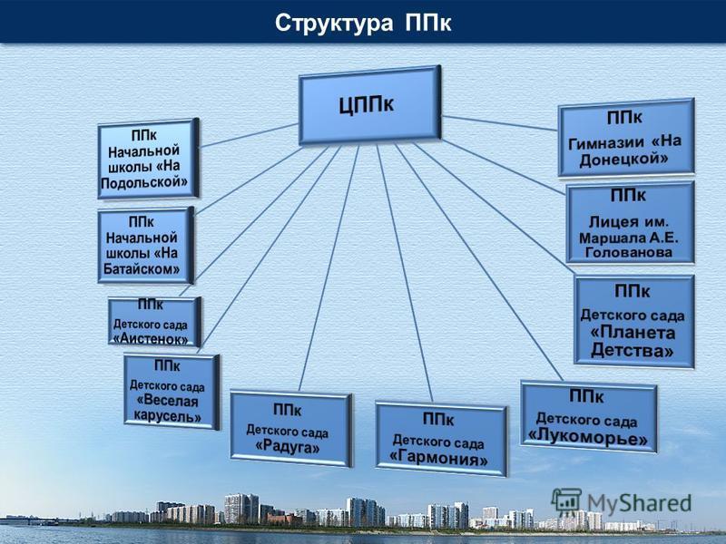 Структура ППк