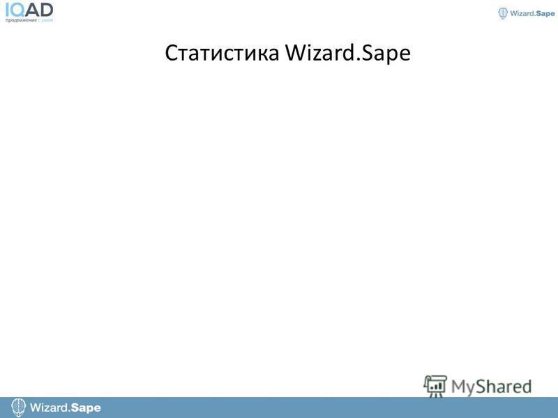Статистика Wizard.Sape