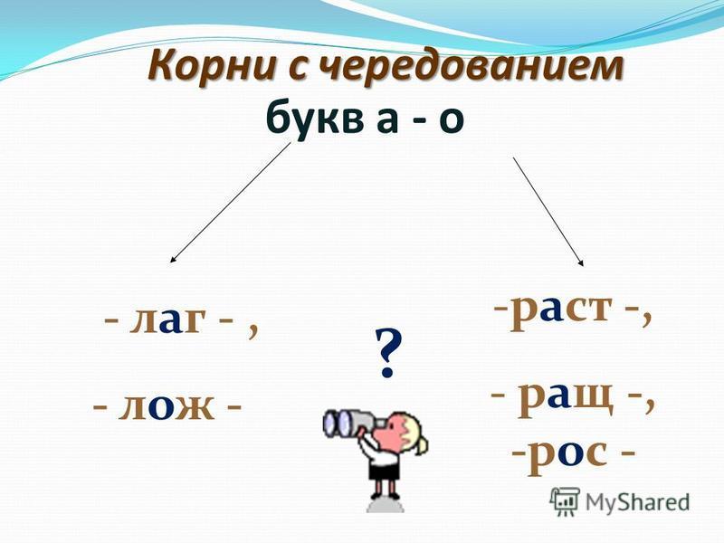 Цели урока: 1) познакомиться с условиями выбора букв е-и в корнях с чередованием, 2) научиться применять правило при написании слов с чередующимися гласными е-и в корне, 3) научиться графически выделять орфограмму