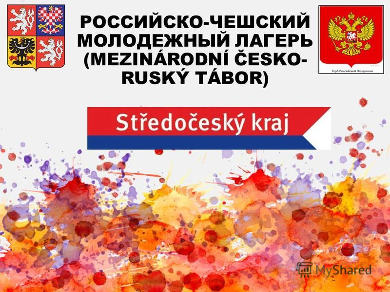 РОССИЙСКО-ЧЕШСКИЙ МОЛОДЕЖНЫЙ ЛАГЕРЬ (MEZINÁRODNÍ ČESKO- RUSKÝ TÁBOR)