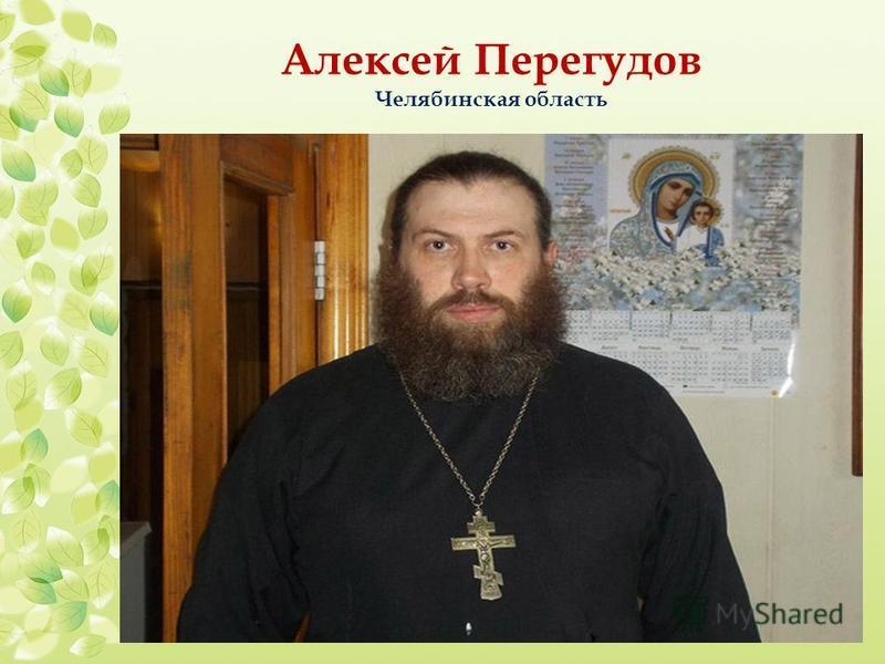 Алексей Перегудов Челябинская область