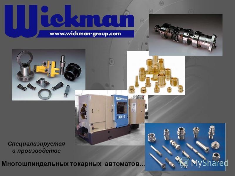Специализируется в производстве Многошпиндельных токарных автоматов…