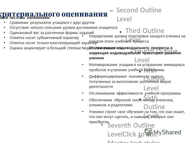 Click to edit the outline text format – Second Outline Level Third Outline Level – Fourth Outline Level Fifth Outline Level Sixth Outline Level Seventh Outline LevelClick to edit Master text styles – Second level Third level – Fourth level Fifth leve
