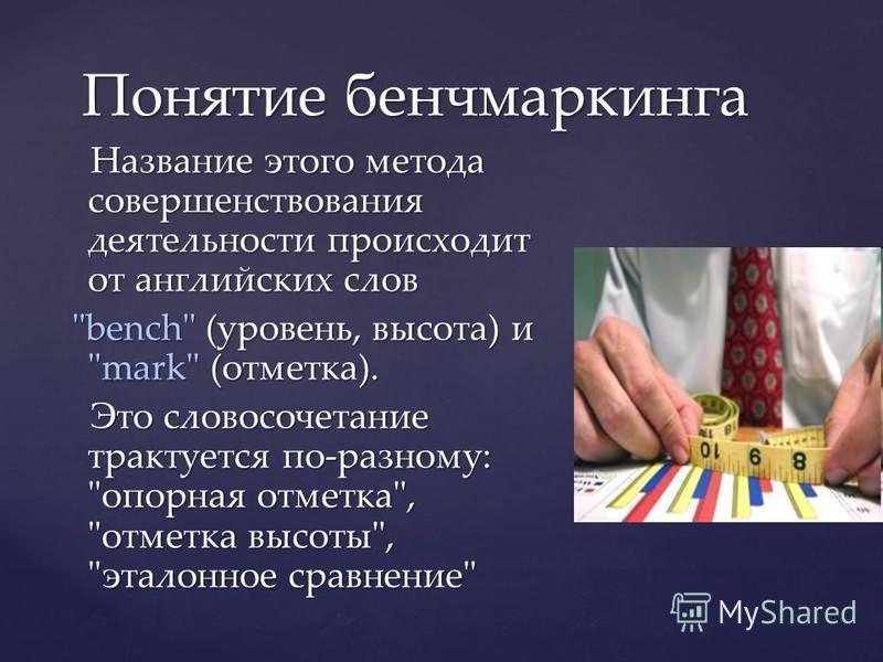 Название этого метода совершенствования деятельности происходит от английских слов Название этого метода совершенствования деятельности происходит от английских слов