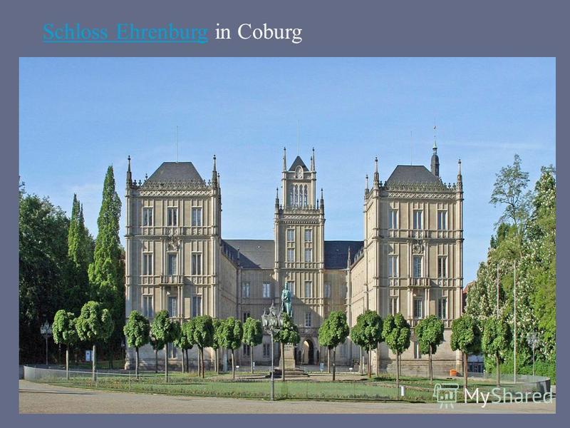 Schloss EhrenburgSchloss Ehrenburg in Coburg