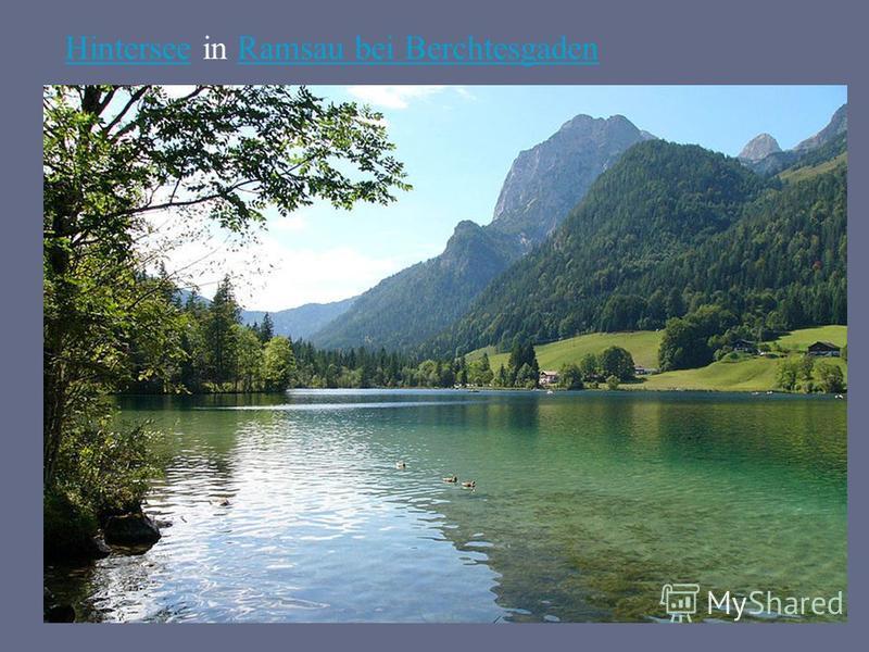 HinterseeHintersee in Ramsau bei BerchtesgadenRamsau bei Berchtesgaden