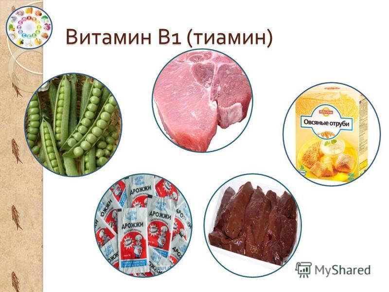 Витамин В 1 ( тиамин )