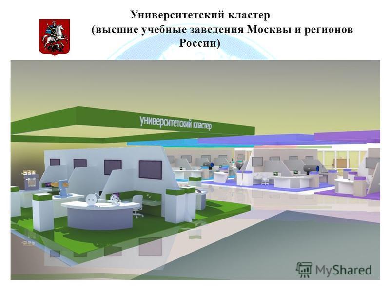 Университетский кластер (высшие учебные заведения Москвы и регионов России)