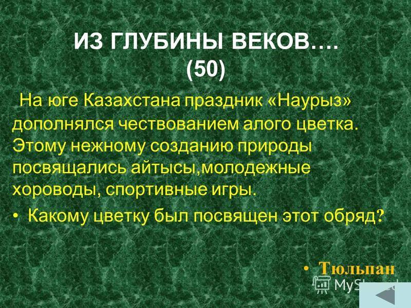 ИЗ ГЛУБИНЫ ВЕКОВ…. (40). Тойбастар. Песня, с которой начинается любой праздник.